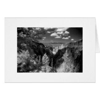 """Cartão De """"parque nacional Yellowstone """""""