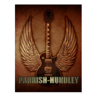 Cartão de Parrish-Hundley Cartao Postal
