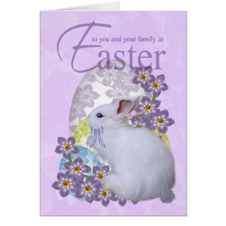 Cartão de páscoa com ovos Pastel - apenas para voc
