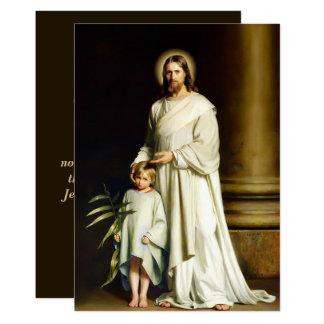 Cartão de páscoa customizável das belas artes das convite 12.7 x 17.78cm