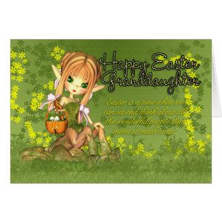 Cartão de páscoa da neta - centauro bonito com