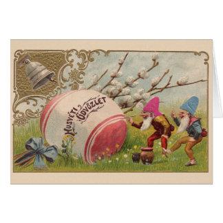 Cartão de páscoa do üdvözlet de Húsvéti do