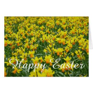 Cartão de páscoa dos Daffodils