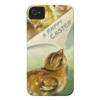 Cartão de páscoa dos pintinhos da páscoa do capinhas iPhone 4