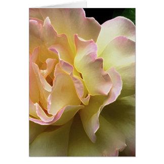 Cartão de páscoa glorioso do rosa amarelo