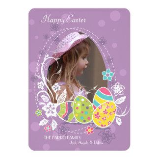 Cartão de páscoa insubstituível da foto convite 12.7 x 17.78cm