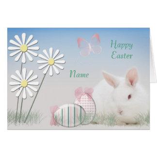 Cartão de páscoa personalizado