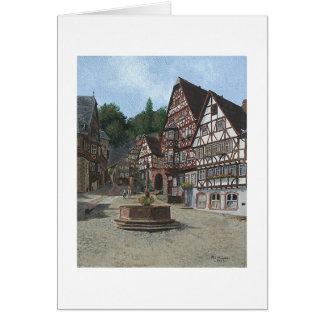 """Cartão de Paul McGehee """"Miltenburg, Alemanha"""""""