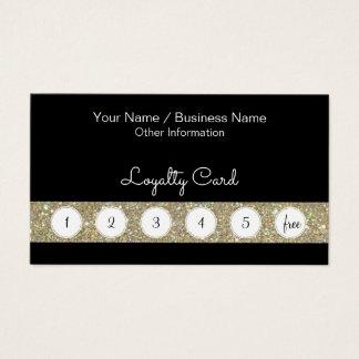 Cartão de perfurador da lealdade do cliente com