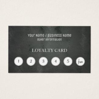 Cartão de perfurador da lealdade do cliente do