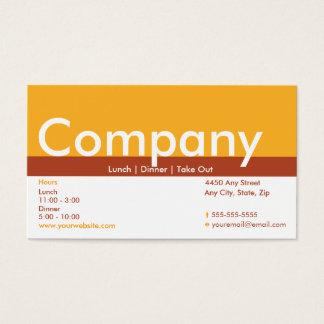 Cartão de perfurador do cartão de visita da