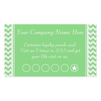Cartão de perfurador relativo à promoção do discon cartões de visitas