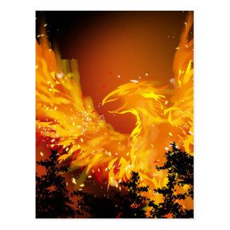 Cartão de Phoenix em vôo