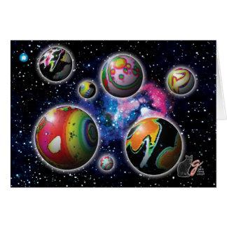 Cartão de Planetoids