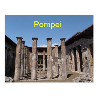 Cartão de Pompeia Cartão Postal