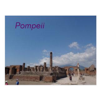 Cartão de Pompeii Cartão Postal
