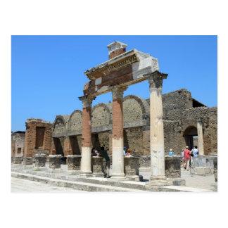 Cartão de Pompeii Cartões Postais