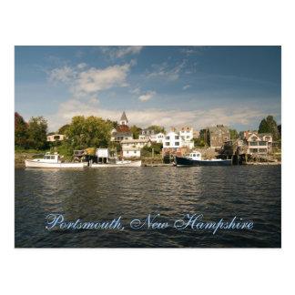 Cartão de Portsmouth,    New Hampshire