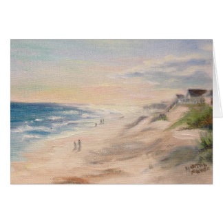 """Cartão De """"praia Topsail """""""