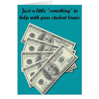 Cartão de presente de $500 graduações