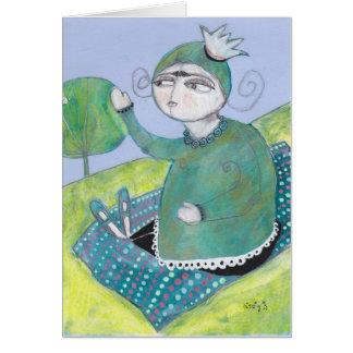cartão de presente inspirado adorável