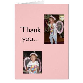 Cartão de professor de Tessa