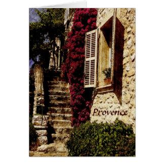 Cartão de Provence, St Paul de Vence