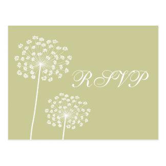 Cartão de Queen'sAnne RSVP