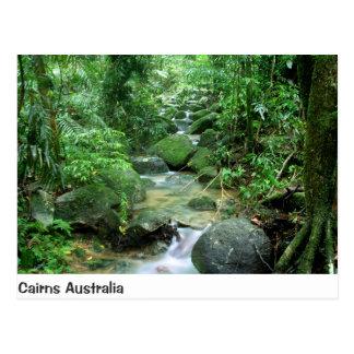 Cartão de Queensland Austrália da angra da
