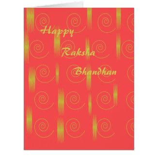 Cartão de Rakshabandhan