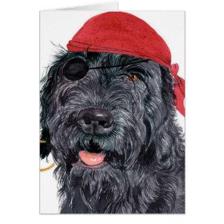 Cartão de Ralph do pirata