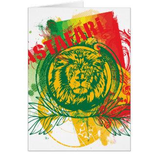 Cartão de Rastafari