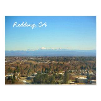 Cartão de Redding Califórnia