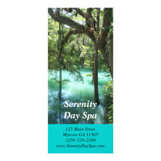 Cartão de relaxamento da cremalheira da imagem planfetos informativos coloridos