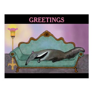 Cartão de relaxamento do Anteater