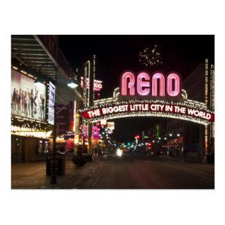 Cartão de Reno nanovolt