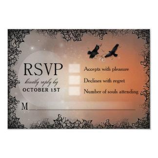 Cartão de resposta de harmonização do Dia das Convite 8.89 X 12.7cm
