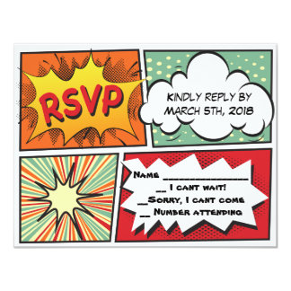 Cartão de resposta de Mitzvah do bar da BANDA Convite 10.79 X 13.97cm