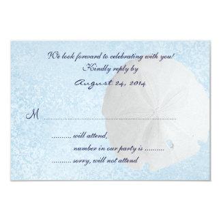 Cartão de resposta do convite do casamento de