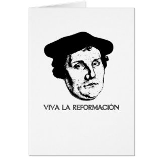 Cartão de Revolución do La de Viva - Martin Luther