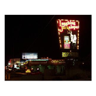 Cartão de riso de Jackalope Las Vegas