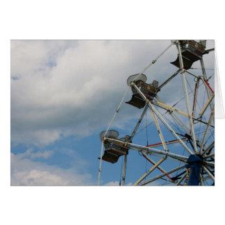 """Cartão de """"roda ferris"""" por Larry Coressel"""