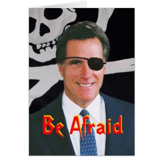 Cartão de Romney o Dia das Bruxas
