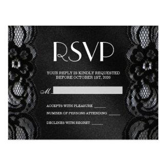 Cartão de RSVP Cartão Postal