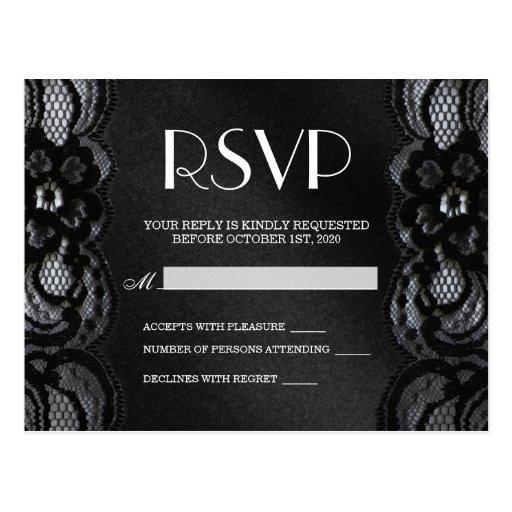 Cartão de RSVP Cartao Postal