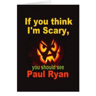 Cartão de Ryan o Dia das Bruxas