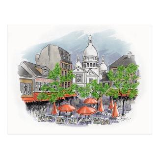 Cartão de Sacre Coeur