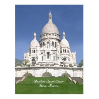 Cartão de Sacré-Coeur