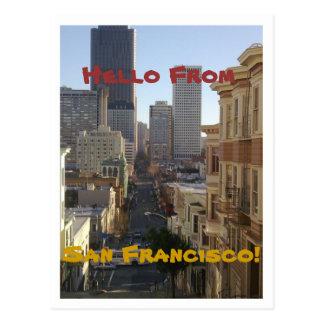 Cartão de San Francisco, Califórnia