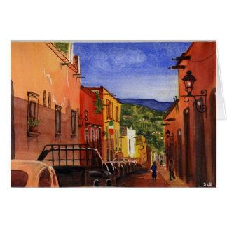 Cartão de San Miguel de Allende